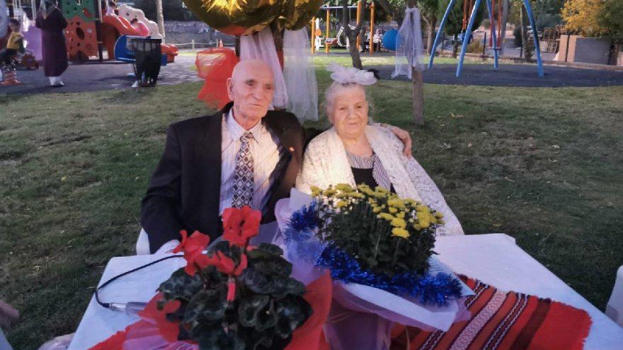 60 yıllık evliliğe nikah tazeleme