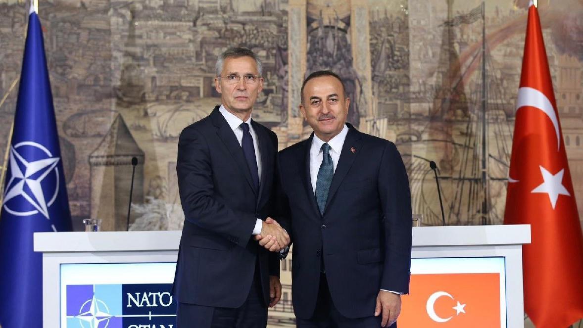 Çavuşoğlu ve Stoltenberg'den ortak basın toplantısı