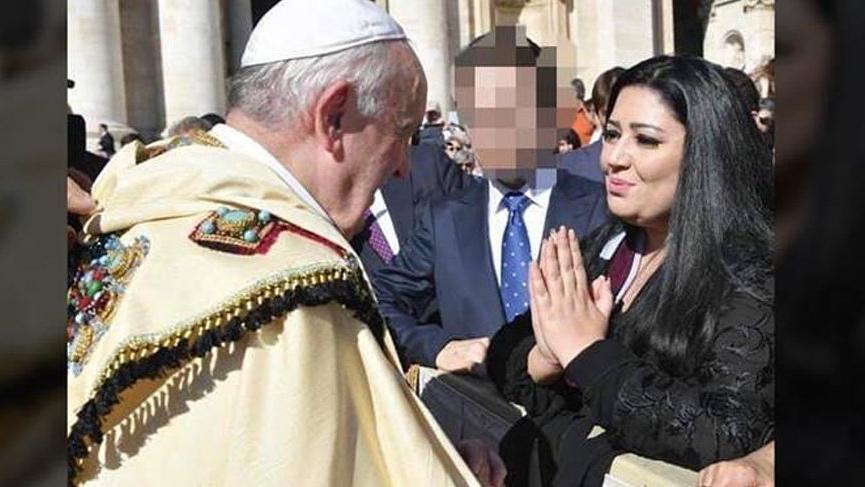 Teröristler için Papa'dan dua istedi!
