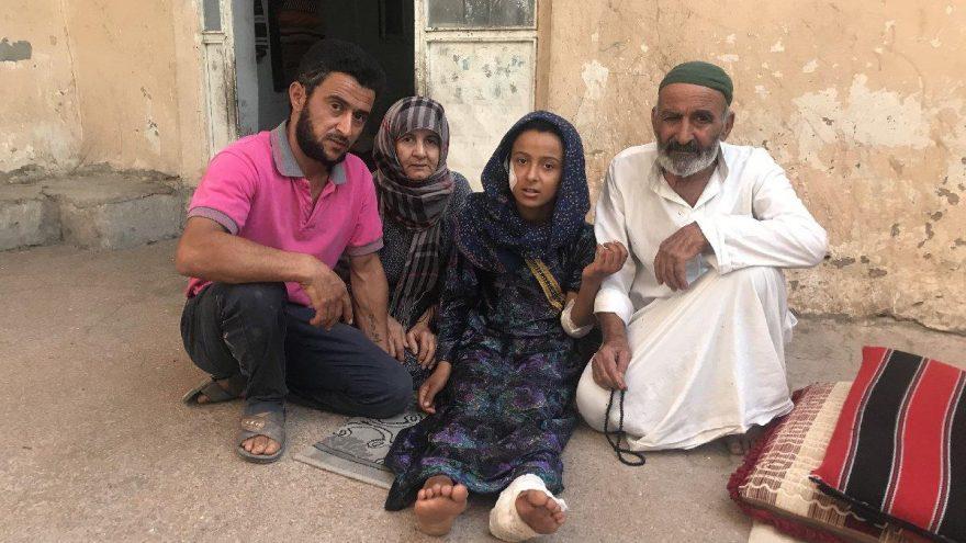 Suriyeli abla kardeş havan mermilerinin hedefi oldu