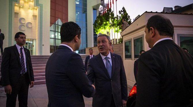 Akar, CHP ve İYİ Parti'den sonra MHP'yi bilgilendirdi