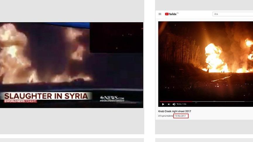 ABD televizyonu silah tanıtımını 'harekatta bombalama' diye çarpıttı!