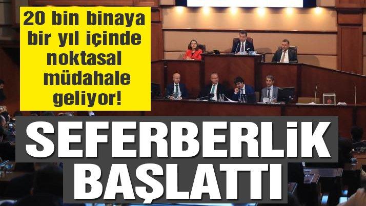 İmamoğlu İstanbul'un deprem seferberlik planını açıkladı