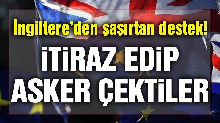 İngiltere, Türkiye'ye ambargoya itiraz etti!