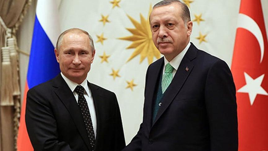 Son dakika haberi... Cumhurbaşkanı Erdoğan ile Putin telefonda görüştü