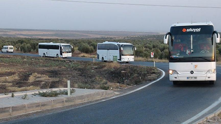 SMO askerlerinin Şanlıurfa'ya hareketi sürüyor
