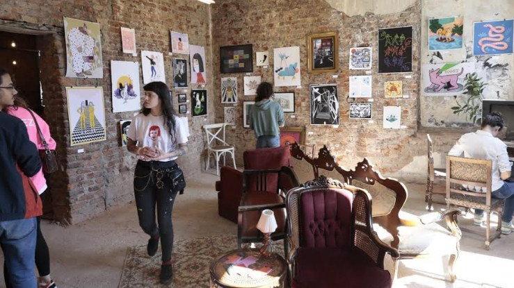 Çizgi sanatı Beşiktaş sokaklarına taştı
