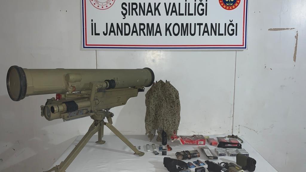 PKK'lı terörist, Konkurs füzesiyle birlikte ölü ele geçirildi