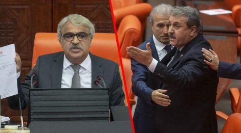 Meclis'te tansiyon yükselten 'hain' tartışması! TBMM Başkanvekili Sancar, hastanelik oldu