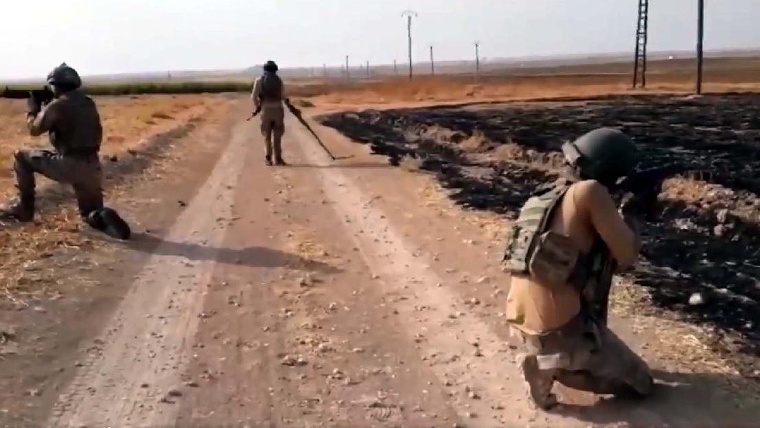 Barış Pınarı Harekât bölgesinde mayın ve EYP temizliği sürüyor