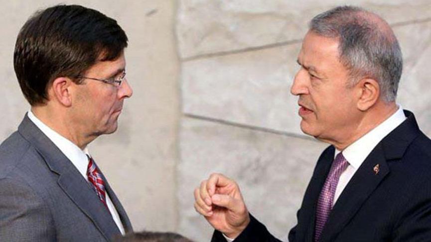 Milli Savunma Bakanı Hulusi Akar'dan ABD'ye mesaj!