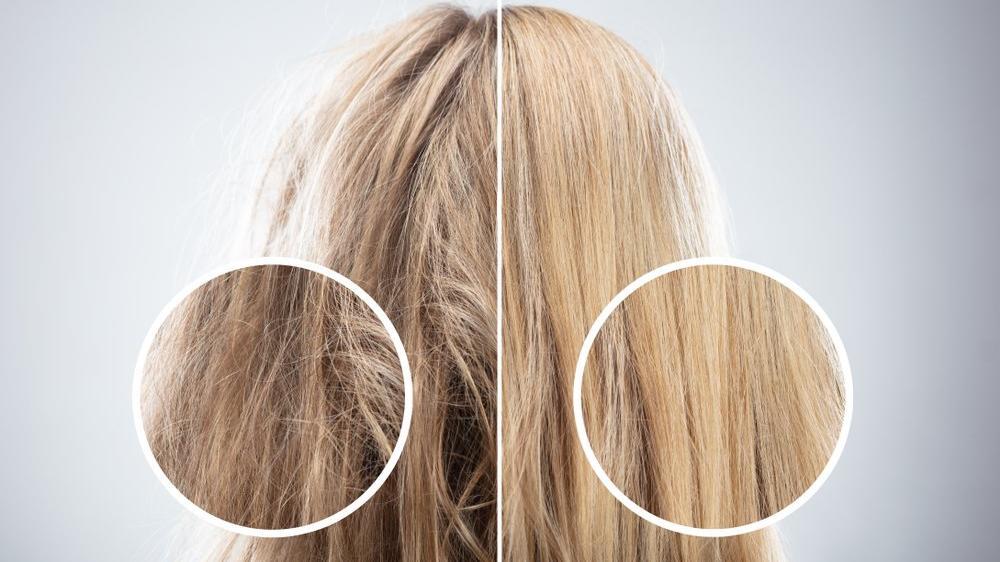 Aşırı yıpranmış saçlar için maske tarifleri...