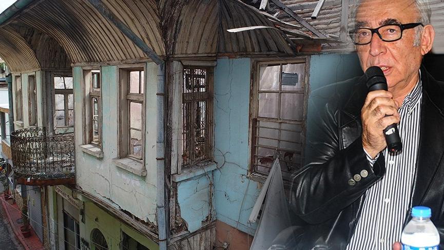 Şener Şen'in doğduğu evin hali içler acısı