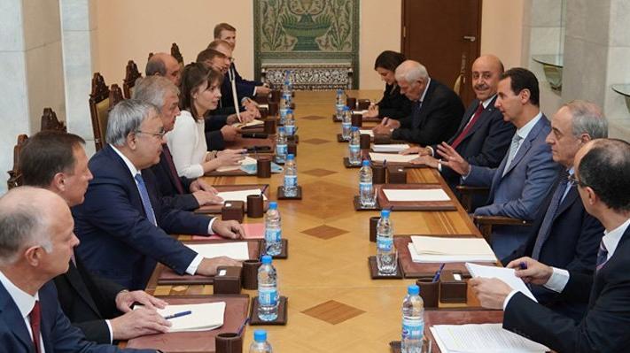 Rus yetkililerden Şam'da kritik görüşme! Güvenli bölge için denklem değişiyor