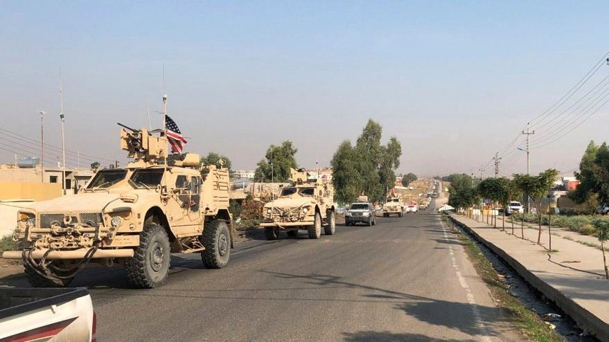 Amerikan askerleri Irak'ta: İlk görüntüler geldi
