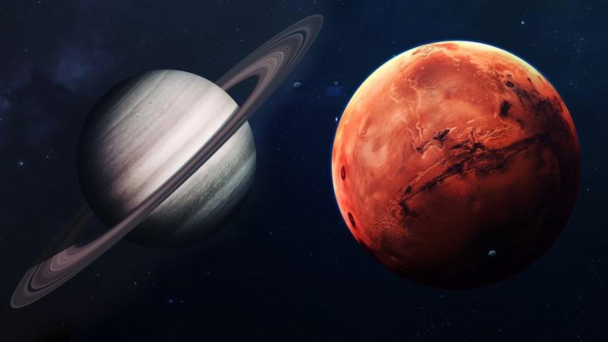 İki şeytanın birlikteliği: Mars ve Satürn kavgası