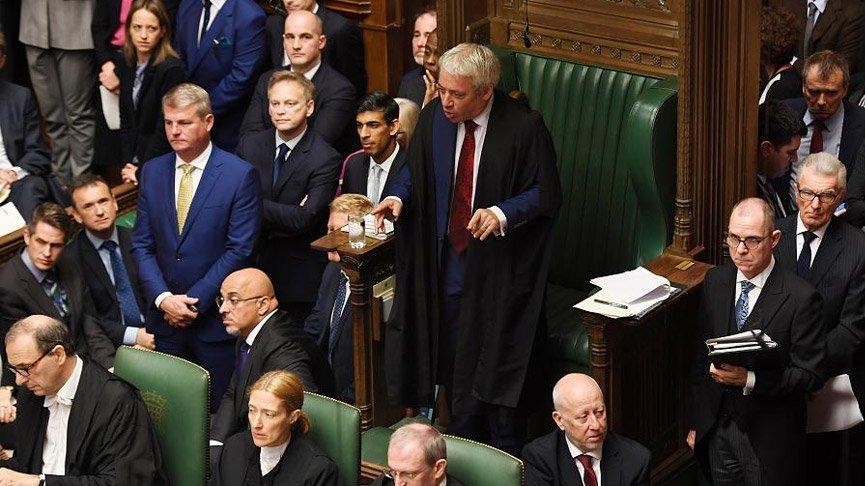 Son dakika... Brexit oylamasına Bercow'dan ret!