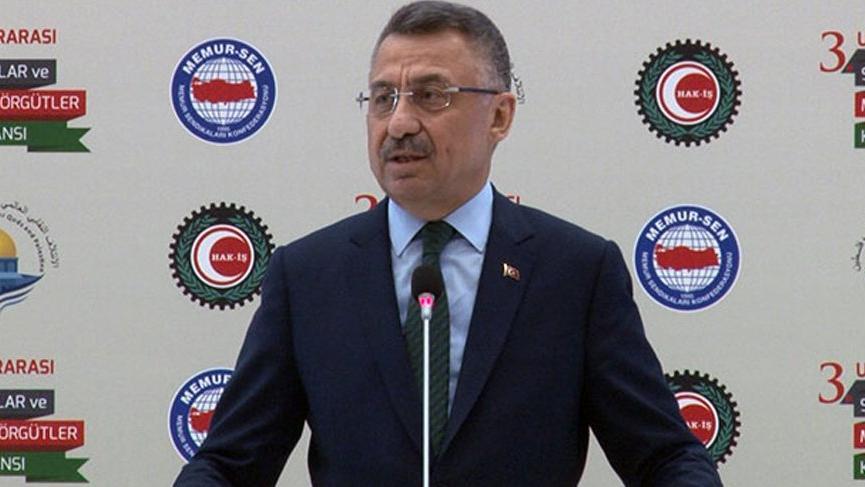 Cumhurbaşkanı Yardımcısı Fuat Oktay: Kaldığımız yerden devam ederiz