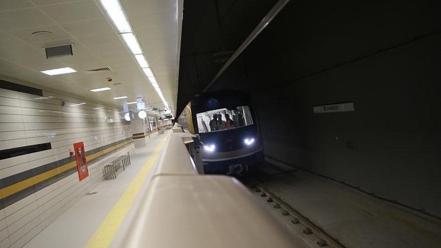 Metroda intihar! Seferler 2 saat durduruldu