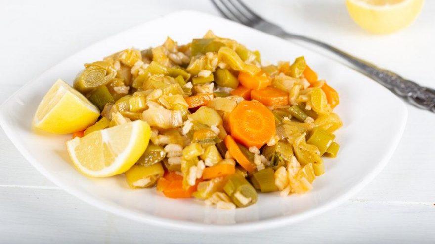 Zeytinyağlı pırasa tarifi… Zeytinyağlı pırasa ne kadar sürede pişer?