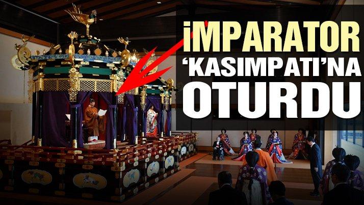 Naruhito126'ncı Japon İmparatoru olarak tahta çıktı