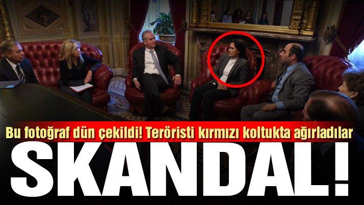 Son dakika… ABD'de skandal buluşma! Teröristi ağırladılar, üstelik…