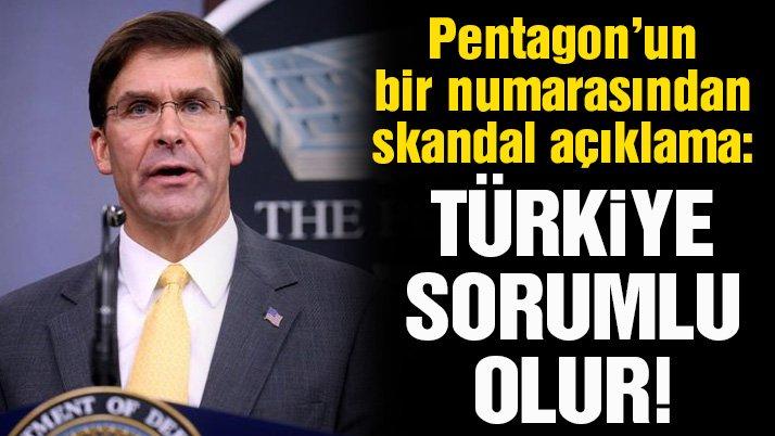 ABD Savunma Bakanı Esper'den skandal açıklama: Türkiye savaş suçundan sorumlu tutulabilir
