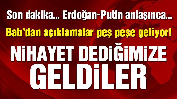 Türkiye-Rusya anlaşmasından sonra Batı'da güvenli bölge tartışması