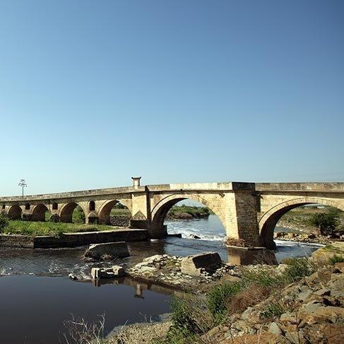 Dünyanın en uzun taş köprüsü: Ergene Köprüsü