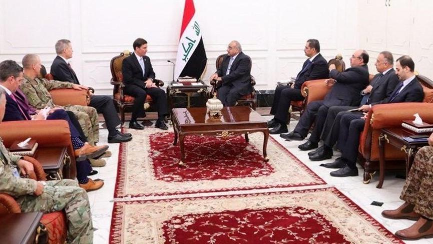 ABD ile Irak arasında 'ABD Kuvvetleri' pazarlığı!