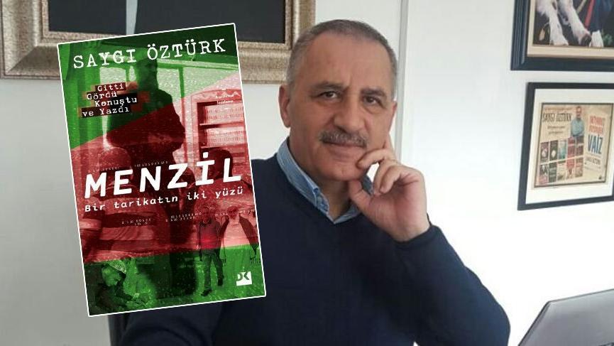 Saygı Öztürk'ten yeni kitap: Menzil Bir Tarikatın İki Yüzü