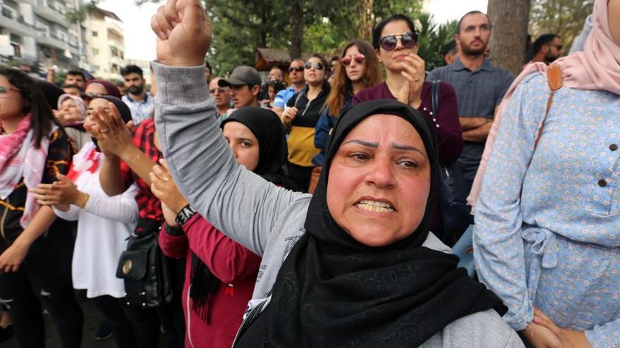 Lübnan'da gösteriler devam ediyor: Cumhurbaşkanı'ndan kritik açıklama