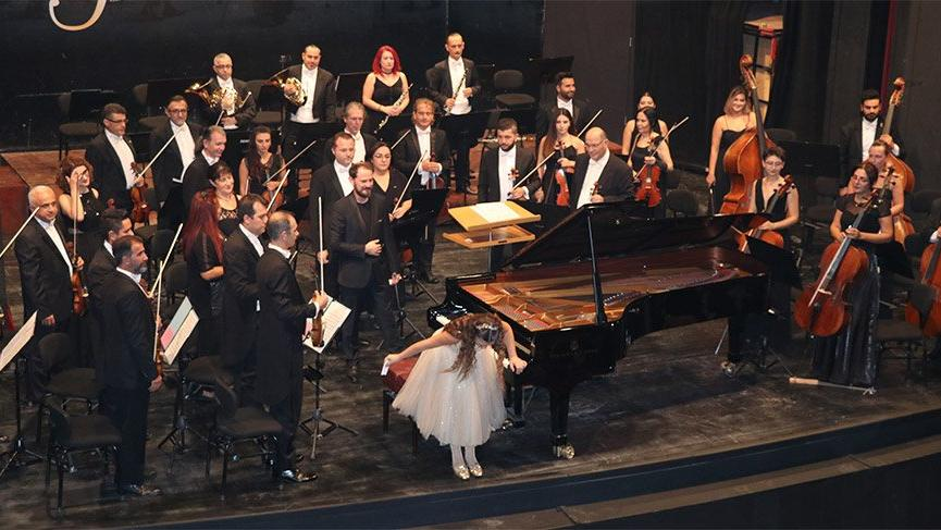 Mozart'ın 11 yaşında bestelediği eseri İlyun Bürkev çaldı
