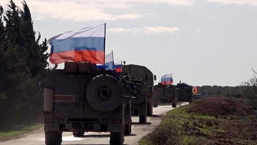 Rusya'dan 'devriye' açıklaması: 210 kilometreden fazla oldu