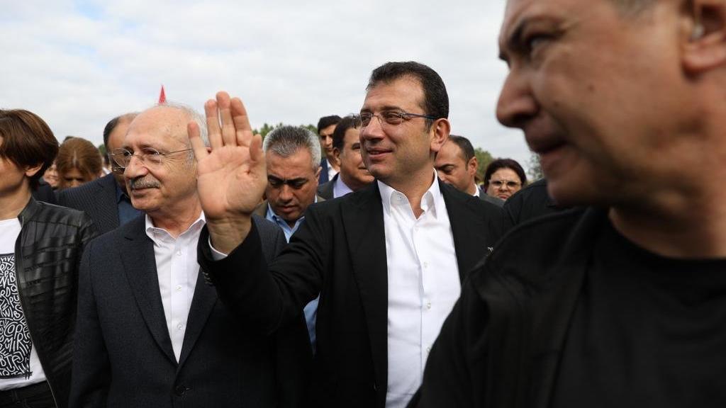 Kılıçdaroğlu, Kemerburgaz Kent Ormanı'nın açılışında konuştu