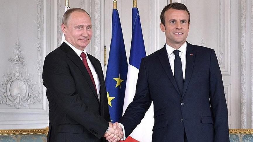 Rusya ve Fransa, Suriye'yi görüştü!