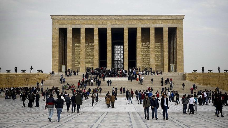 Anıtkabir'de yabancı ziyaretçi rekoru kırıldı