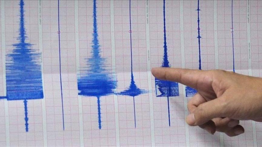 Son depremler: Ege'de 4 büyüklüğünde deprem!