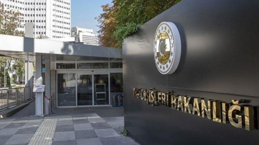 Son dakika... ABD Büyükelçisi Dışişleri'ne çağrıldı