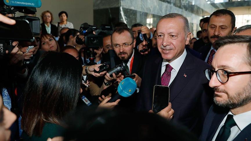Erdoğan'dan flaş ABD ziyareti açıklaması