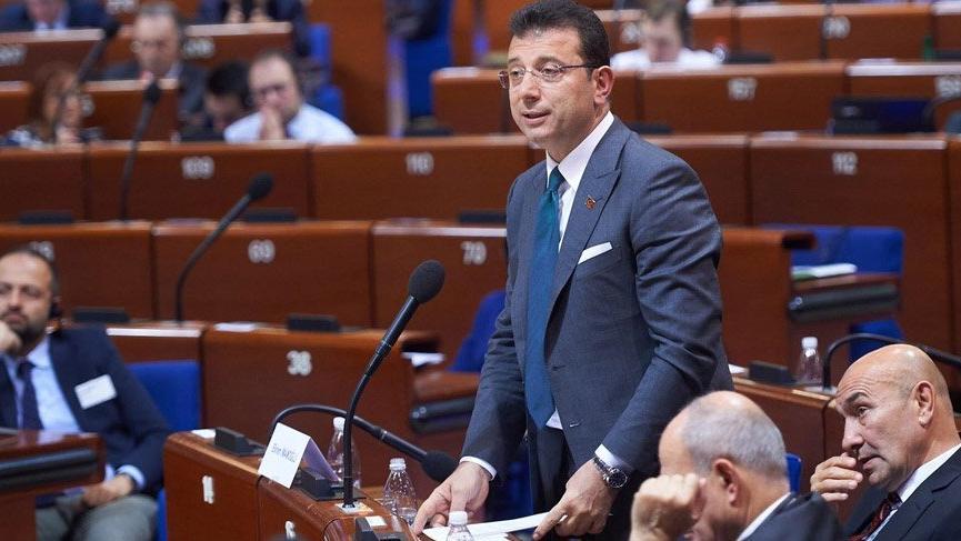 İmamoğlu Strasburg'da konuştu: İstanbul seçimleri tüm dünya için öğretici