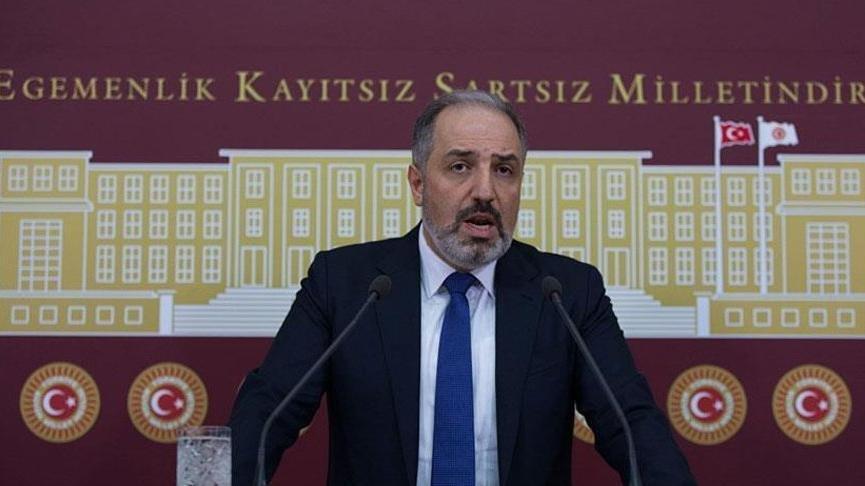 Son dakika... AKP'li Mustafa Yeneroğlu partisinden istifa etti