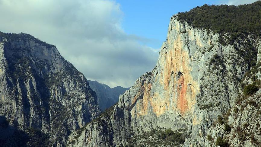 Kastamonu'daki doğa harikası Valla Kanyonu