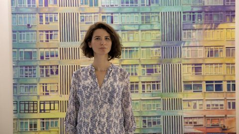 Türk sanatçının eseri, ünlü mimar Hadid'in koleksiyonunda