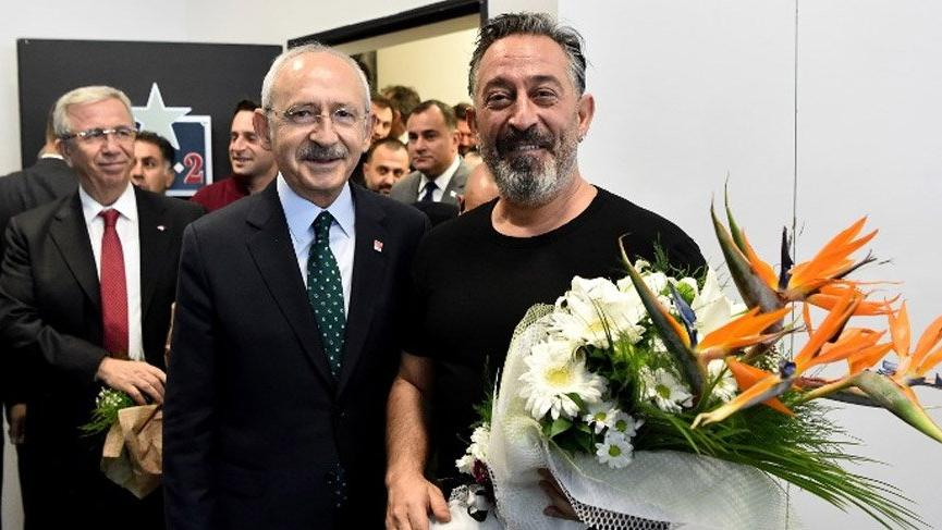 Kılıçdaroğlu ve Yavaş, Cem Yılmaz'ı izledi!