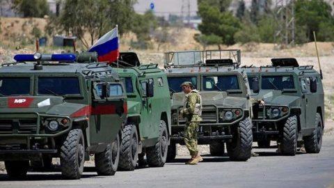 Rusya'nın Suriye'deki devriyeleri devam ediyor