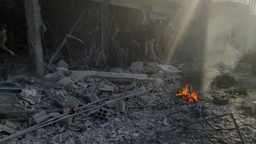 Son dakika... Tel Abyad'da bombalı saldırı!