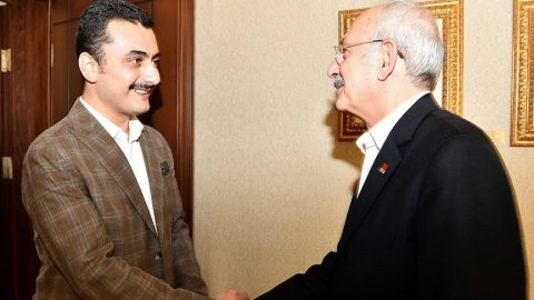 CHP lideri Kılıçdaroğlu, Eren Erdem'i kabul etti!