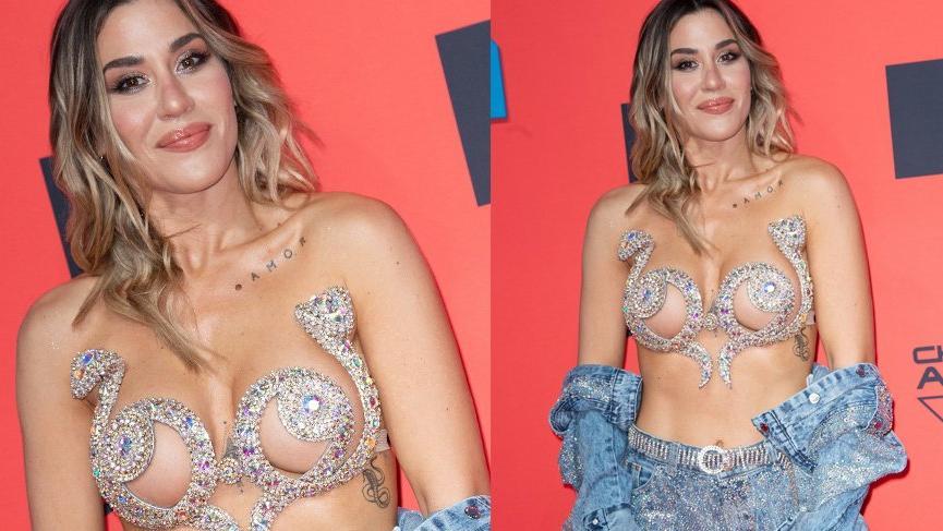 MTV EMA Ödül gecesi kıyafetleri dikkat çekti