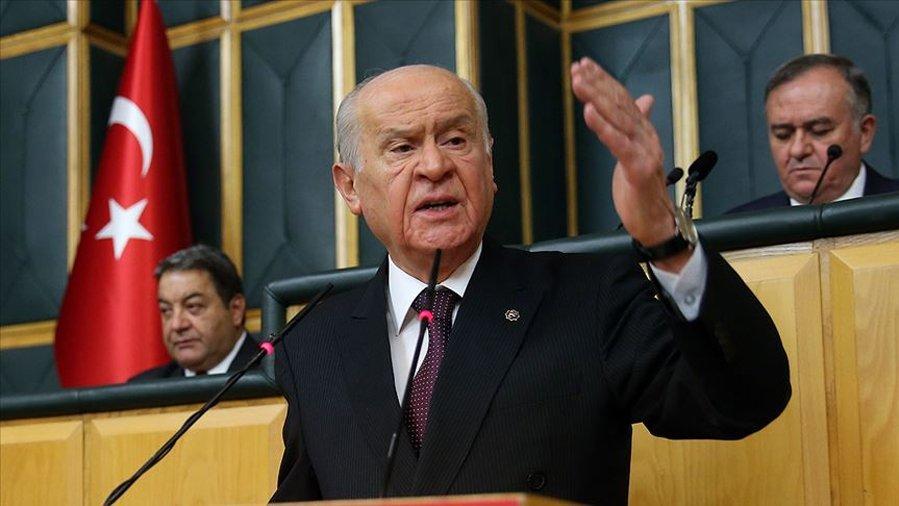 Son dakika... Bahçeli'den 'FETÖ'nün siyasi ayağı' açıklaması